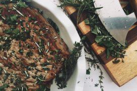 Rosemary Garlic Roast